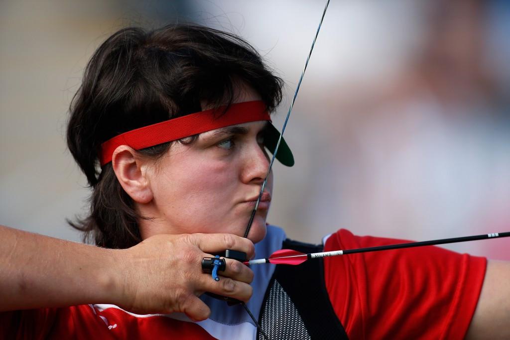 Milena Olszewska won a shoot-off for the bronze medal ©Getty Images