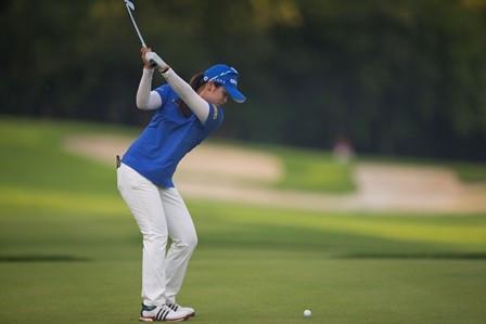 South Korea open up seven stroke lead at Women's World Amateur Team Championships