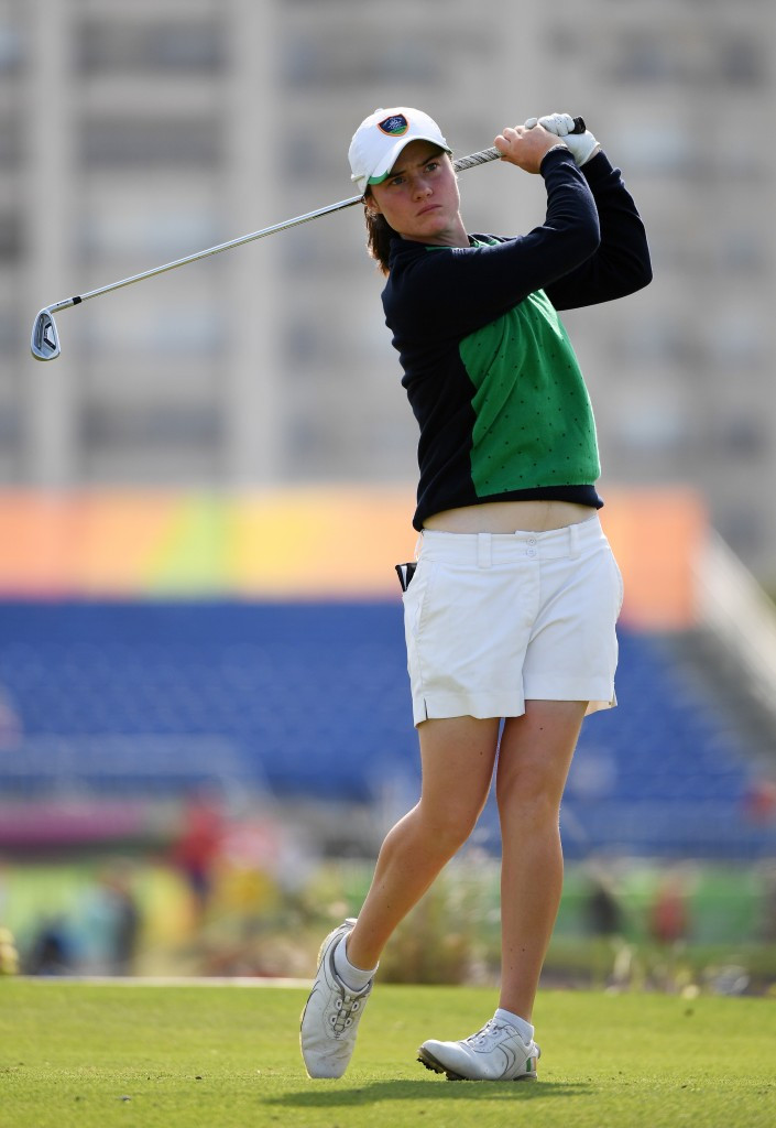Olympian Leona Maguire helped Ireland move up to third ©Getty Images