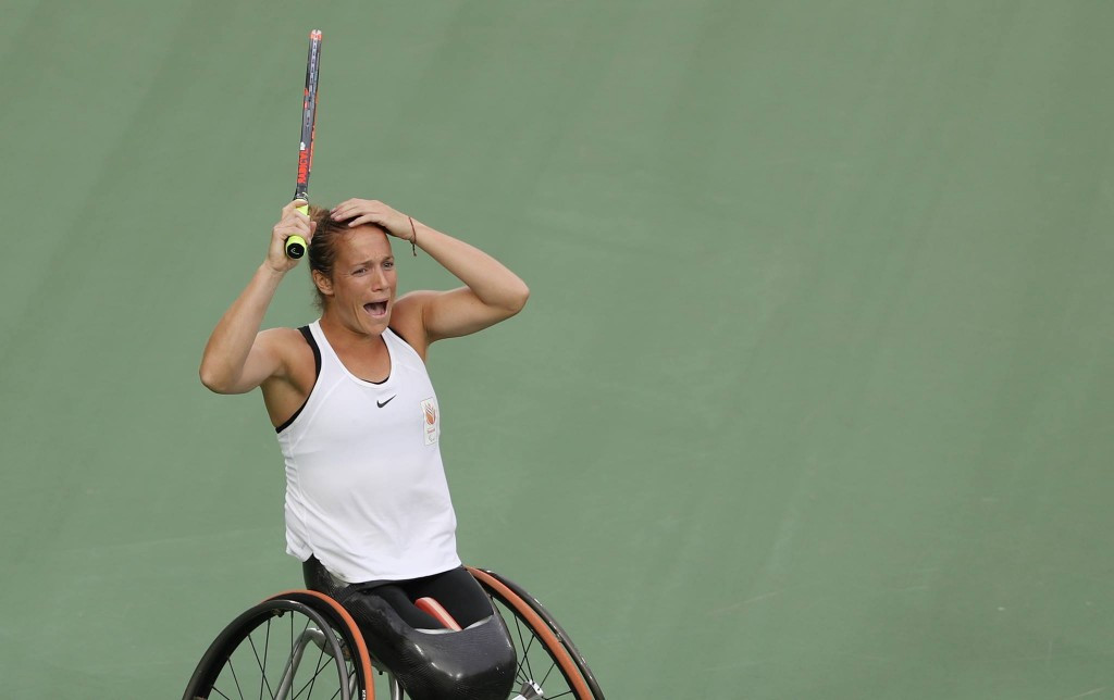 Griffioen ends long wait for Paralympic title as Houdet and Peifer win men's wheelchair doubles at Rio 2016