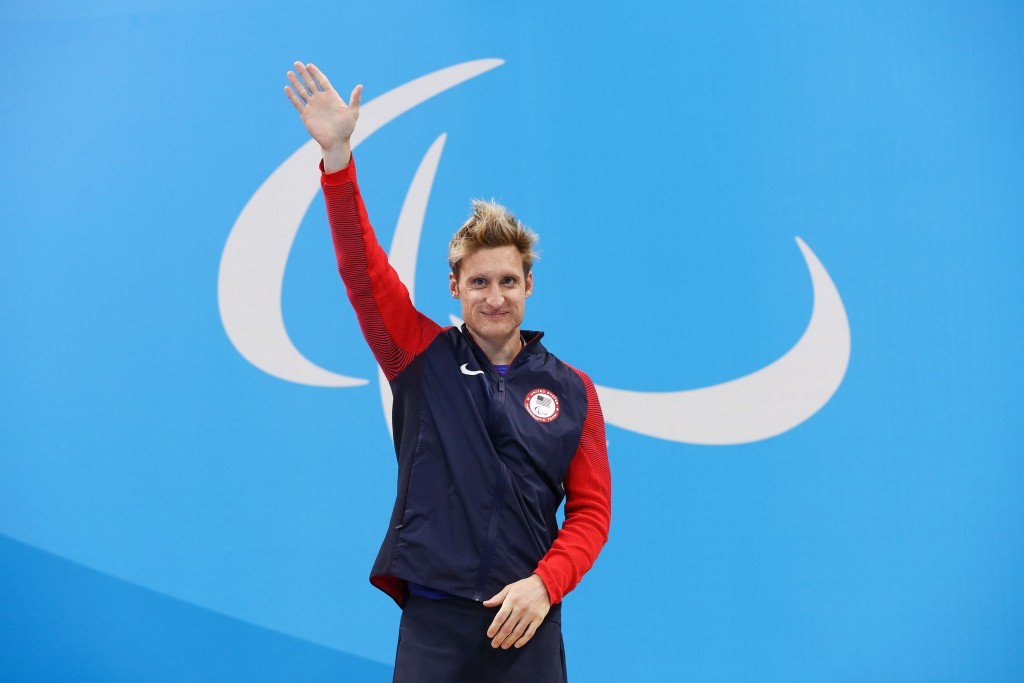 Snyder breaks long-standing swimming world record after competition delay at Rio 2016 Paralympics