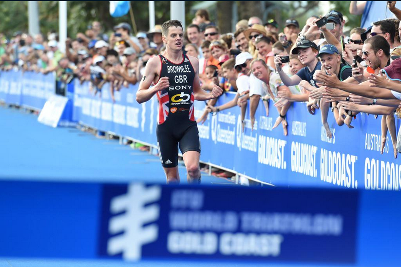 Jonathan Brownlee will get the chance to compete in his home city if Leeds is included on the 2016 ITU World Triathlon Series calendar ©Twitter/World Triathlon