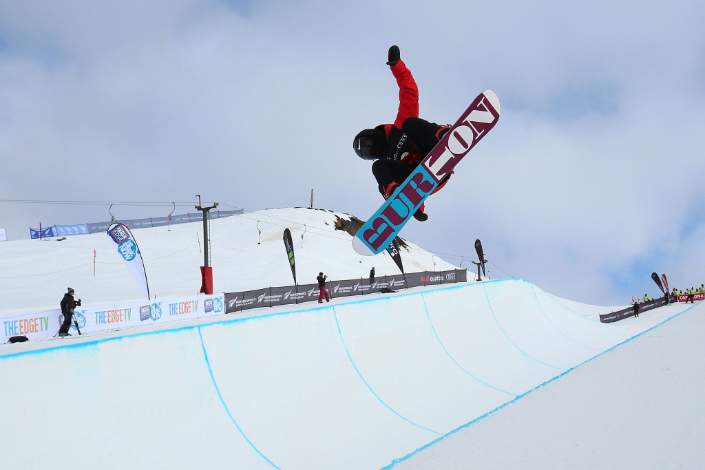 Japan enjoy success in halfpipe events at Cardrona Games