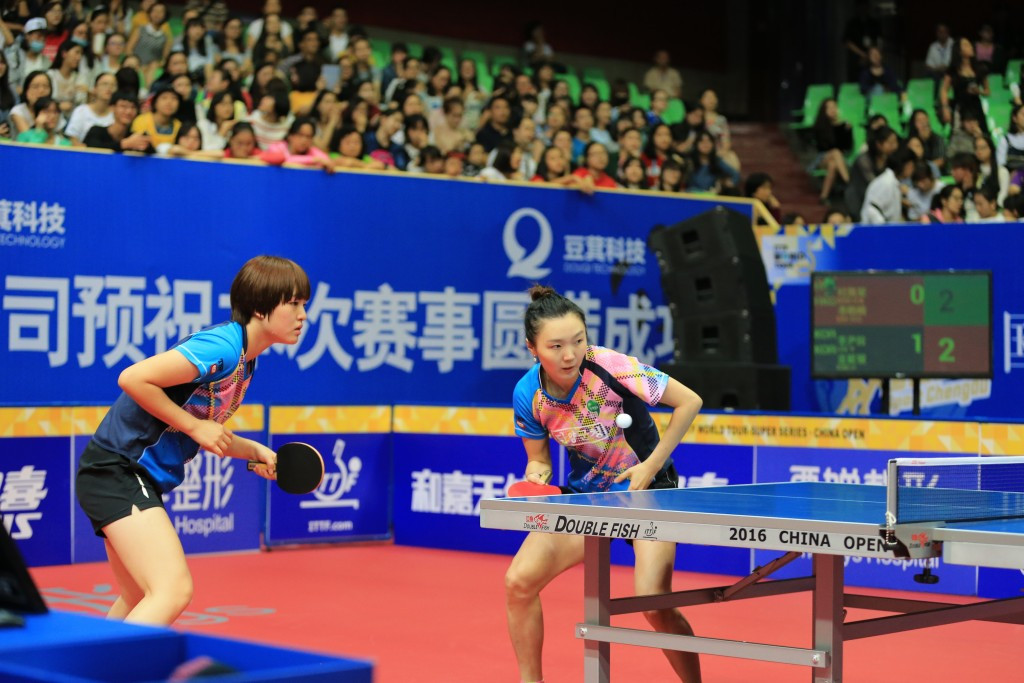 South Korea pair storm into women's doubles semi-finals at ITTF China Open