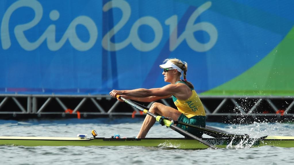 Australian rower Kim Brennan was one of four Olympic champions targeted ©Getty Images