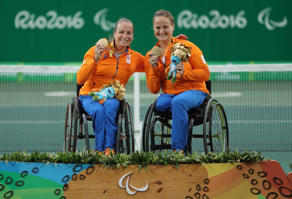 Griffioen and Van Koot secure women's doubles gold as Briton Reid triumphs in men's singles at Rio 2016