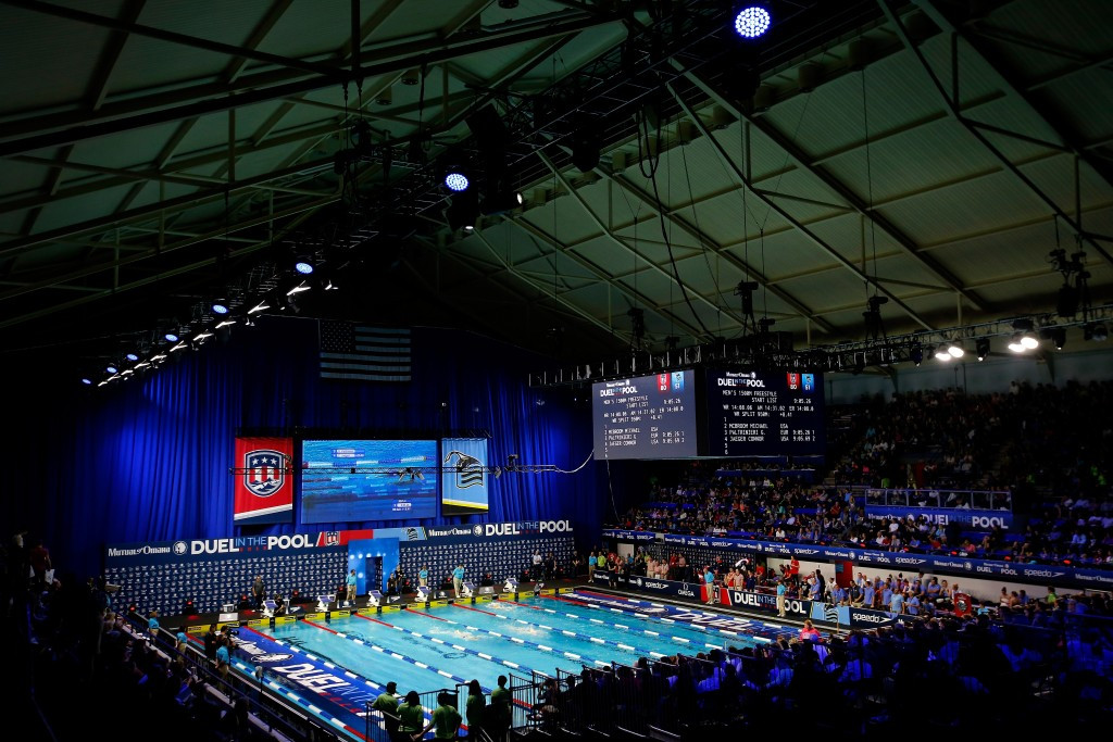 The Indiana University Natatorium in Indianapolis will host the 2017 FINA World Junior Swimming Championships ©Getty Images