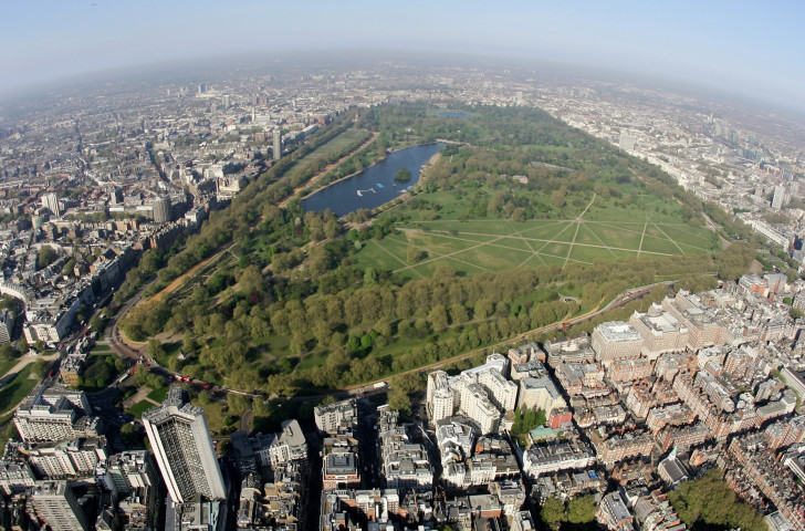 London's Hyde Park has hosted a leg of the World Triathlon Series in each of the last six years