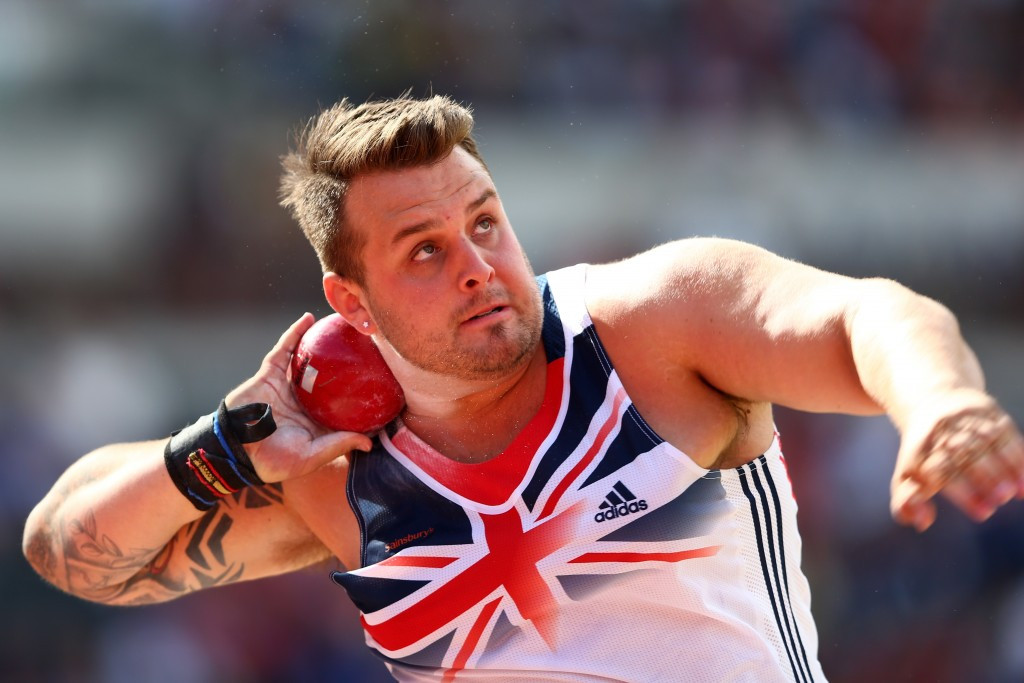 Britain's Aled Davies continued his superb form with victory in the shot put in Berlin
