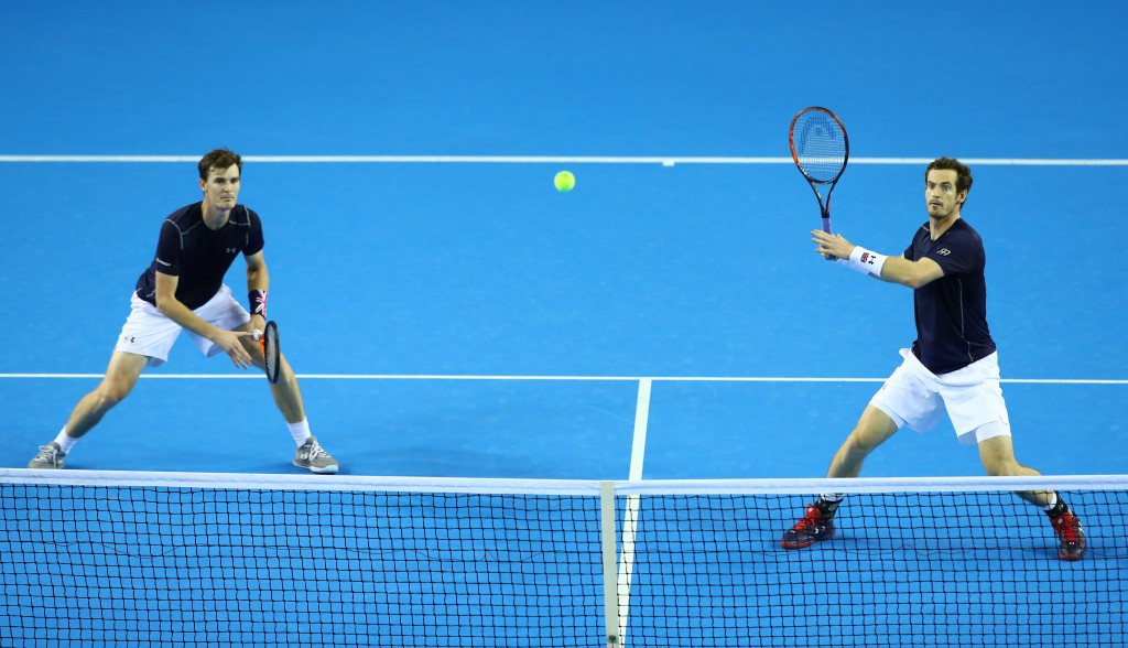 Murray brothers keep British hopes alive as Croatia move to brink of victory over France in Davis Cup semi-finals