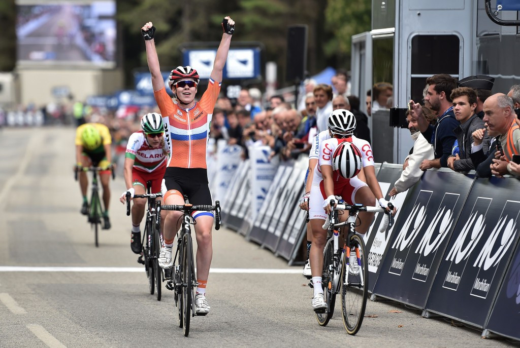 Van der Breggen clinches inaugural European Road Cycling Championships title to add to Olympic gold