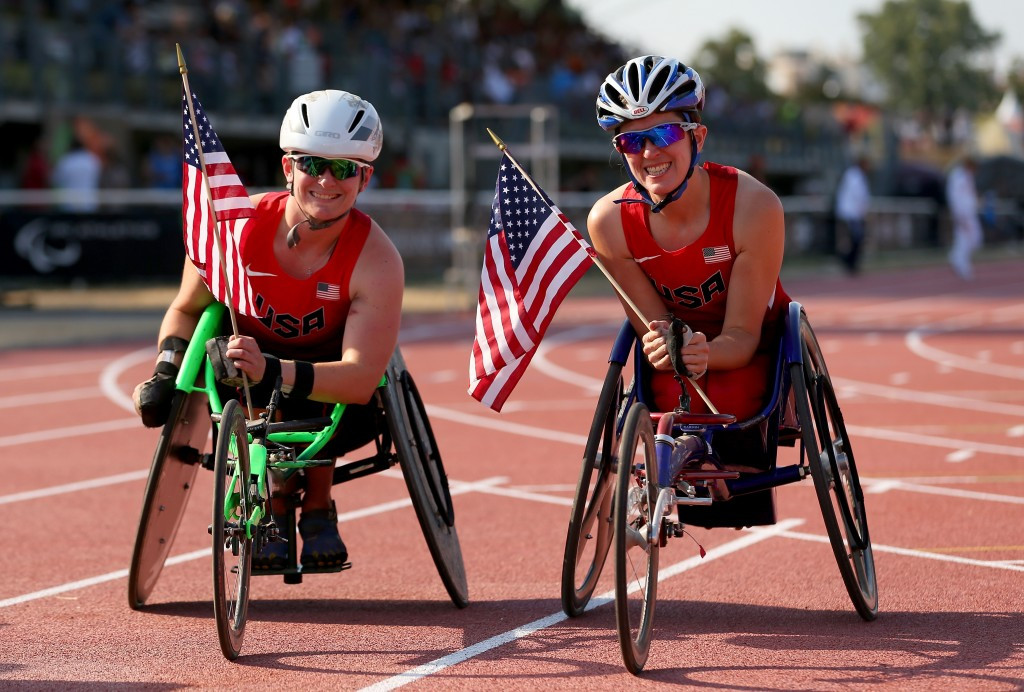 Mitchell sets unofficial 200m world record at US Paralympics Track and Field National Championships