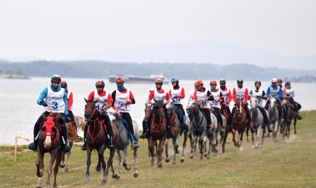 The gruelling race in Slovakia ended in farcical circumstances when the first three riders across the line were disqualified and Spain's  Jaume Punti Dachs, who finished fourth, was declared the winner ©Twitter