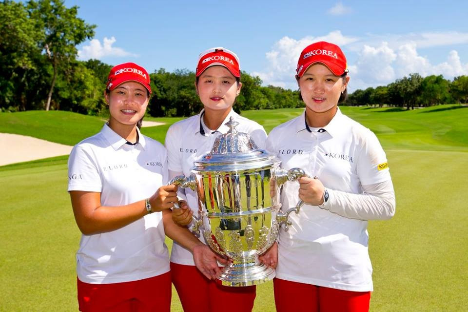 South Korean golfers cruise to victory at Women's World Amateur Team Championships