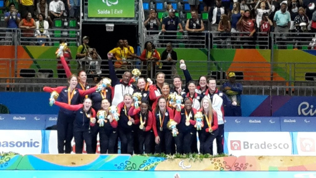 United States end China's domination of Paralympic women's sitting volleyball competition