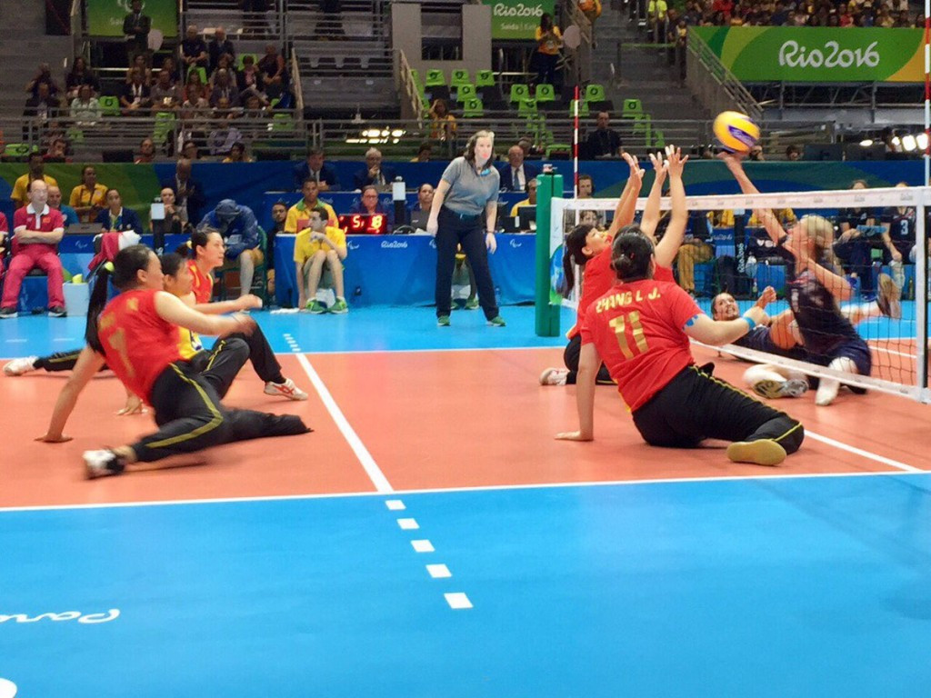 China had to settle for the silver medal ©World ParaVolley/Twitter