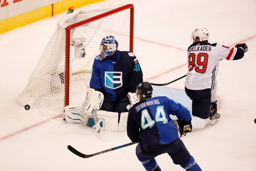 Europe stun United States to open World Cup of Hockey in thrilling style