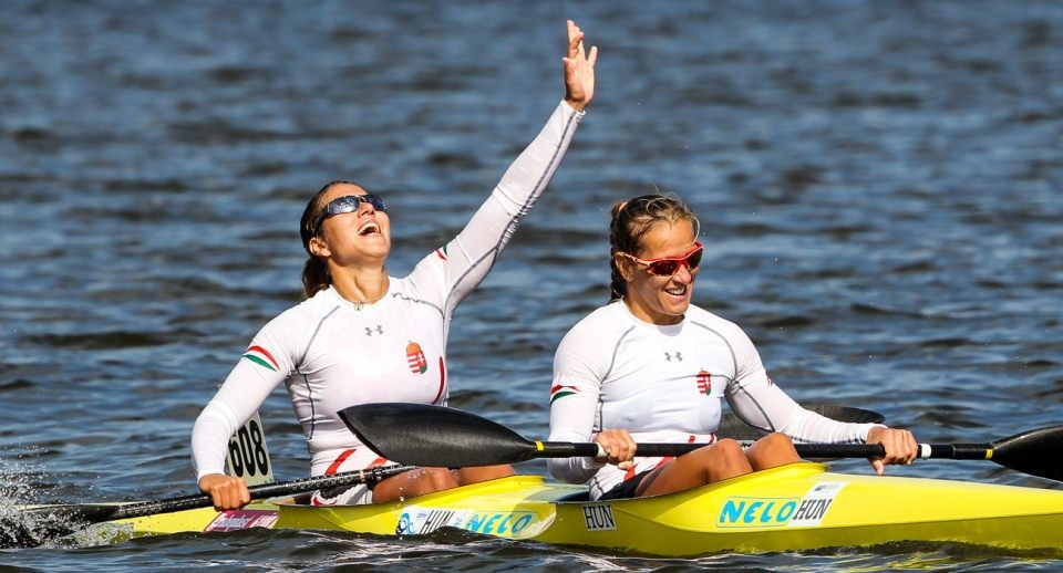 Renata Csay was among individual gold medallists from Hungary to also gain team success ©ICF