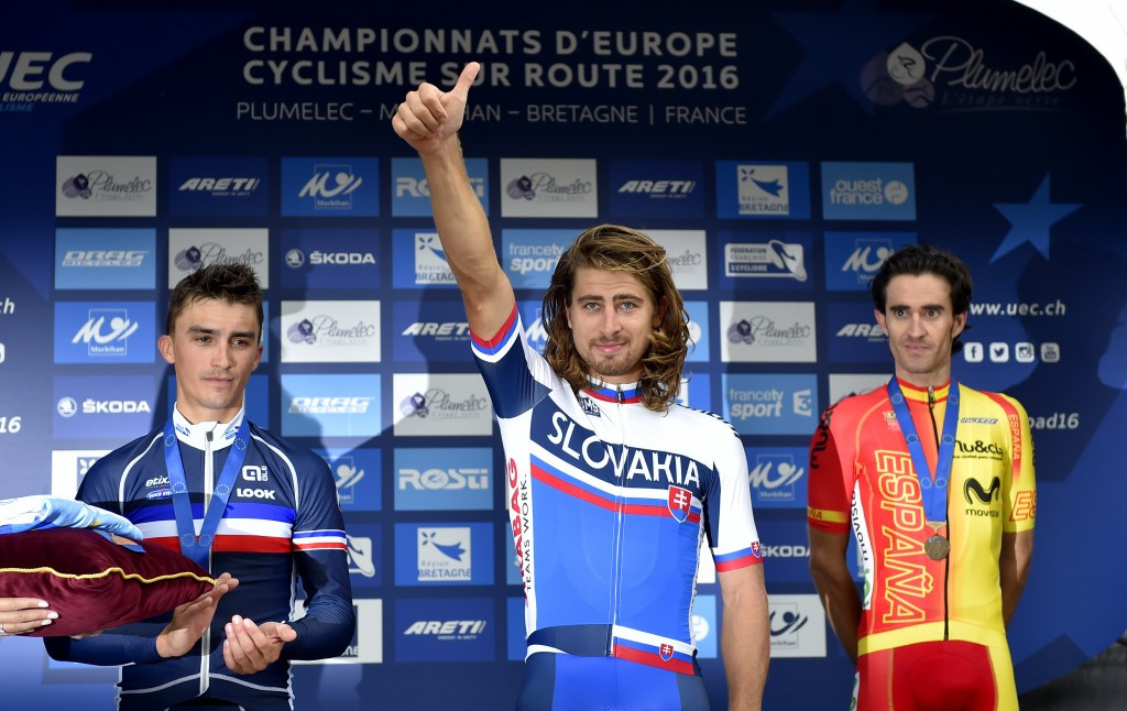 Peter Sagan is now the reigning world and European road race champion ©Getty Images