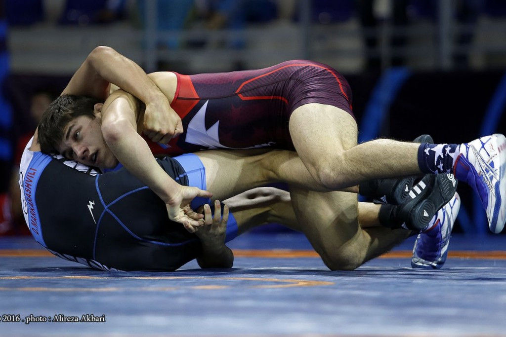 US duo Diakomihalis and Steveson successfully defend titles at Cadet Wrestling World Championships