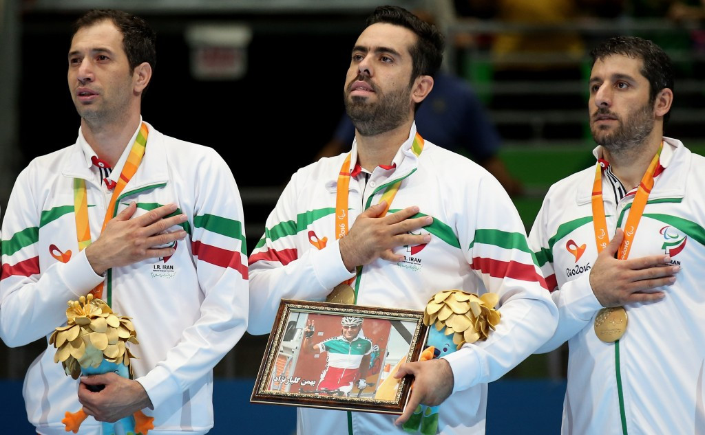 Iran dedicate sitting volleyball triumph at Paralympics to cyclist tragically killed in crash during Rio 2016