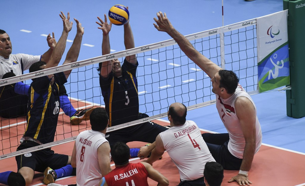 Iran beat defending champions Bosnia and Herzegovina to win the sitting volleyball gold medal ©Getty Images