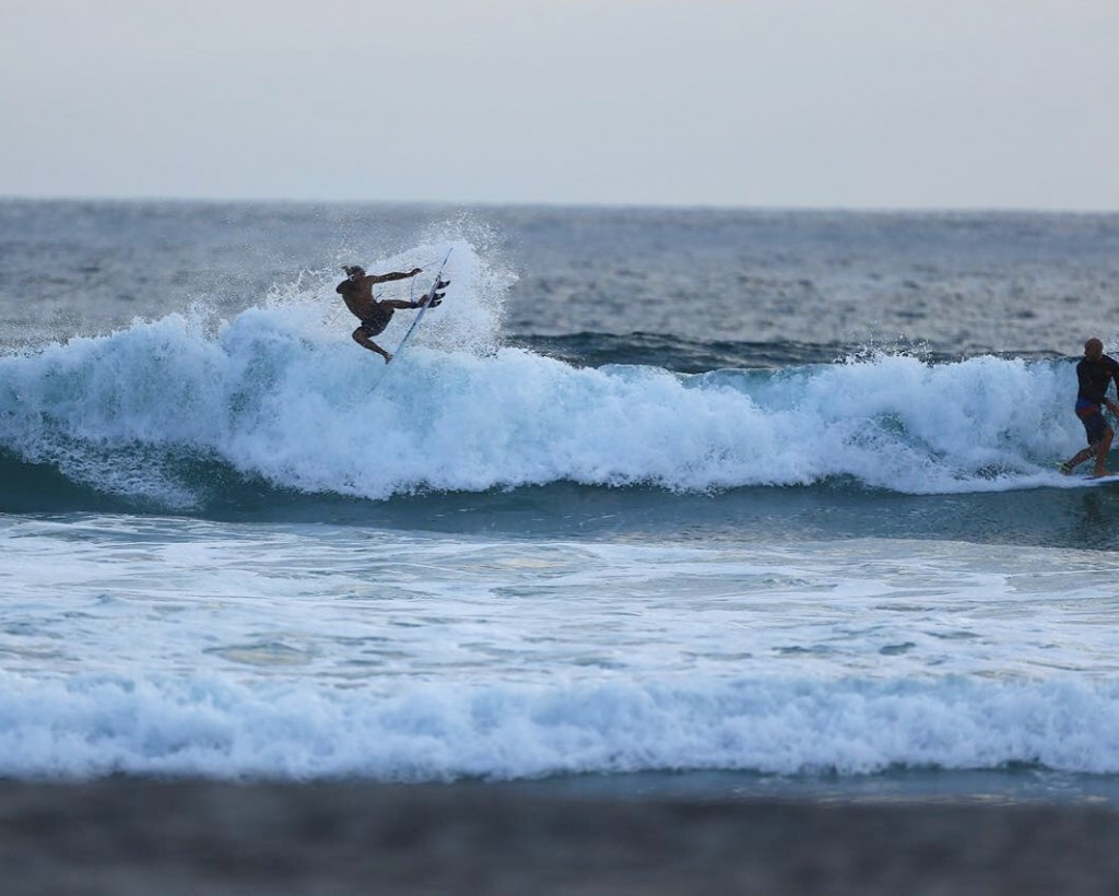 Malakai Martinez of Costa Rica believes the induction of surfing into the Olympic Games is great for the sport ©ISA
