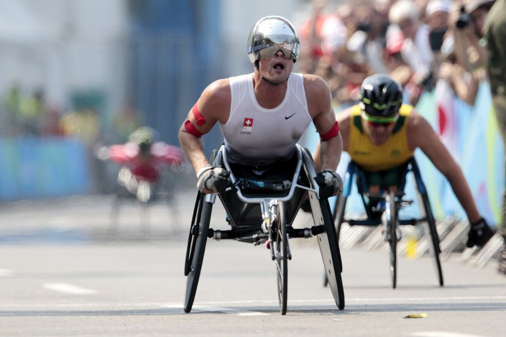 Hug secures second Paralympic gold as McFadden denied fifth title on marathon day at Rio 2016