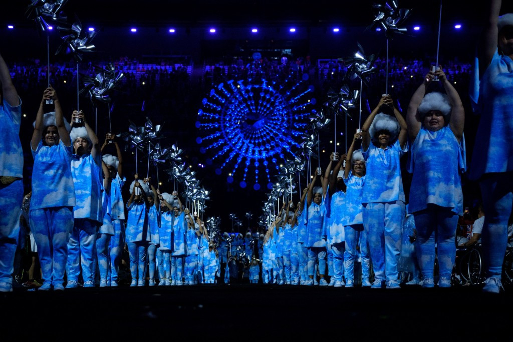 The Paralympic Flame was extinguished to mark the end of the Rio 2016 Paralympic Games ©Getty Images