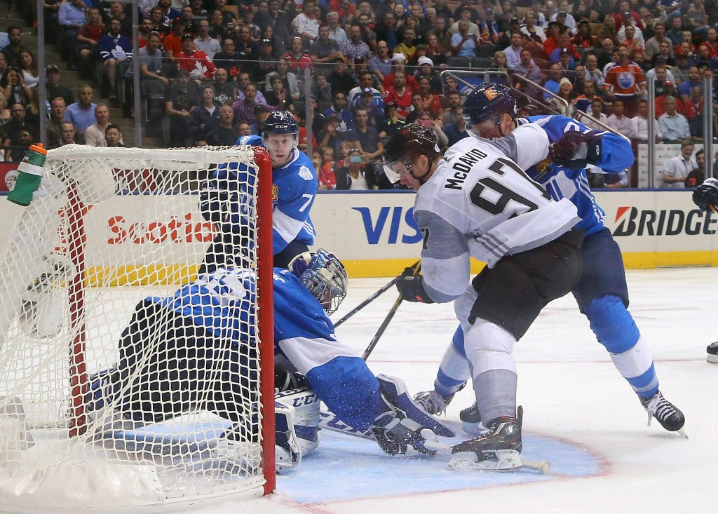 North America beat Finland at the World Cup of Hockey ©Getty Images