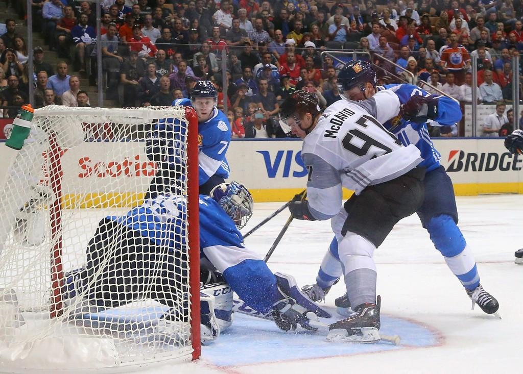 North America stun Finland at World Cup of Hockey