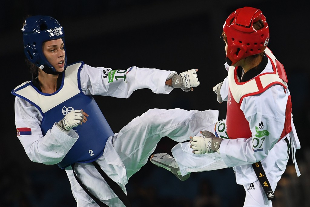 Rio 2016 taekwondo silver medallist heads back to school after Olympic competition