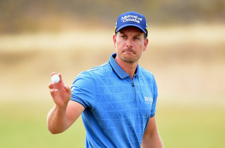 Stenson and Johnson share lead as Woods cards disastrous opening round at US Open