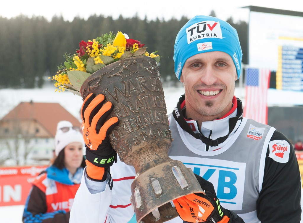 Klapfer becomes third member of Austrian Nordic Combined team to suffer shoulder injury