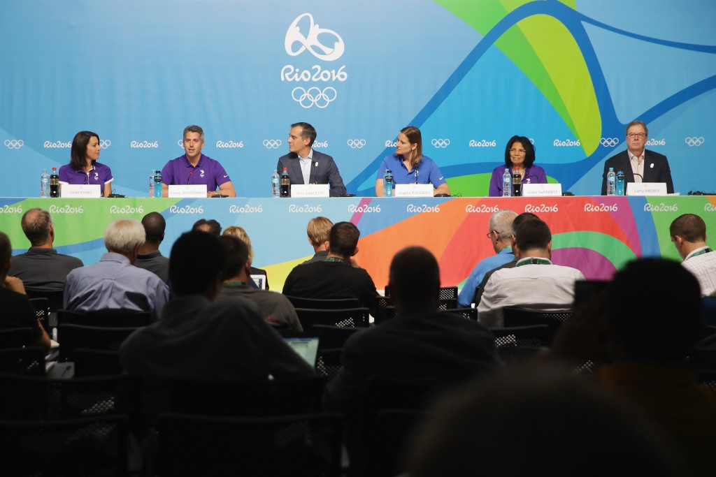 Bid cities were only allowed one 30 minute press conference to officially publicise their bid at Rio 2016 ©Getty Images