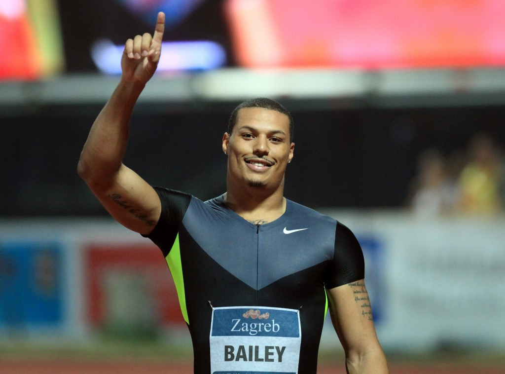 Ryan Bailey is another sprinter hoping to impress in the winter sport ©Getty Images