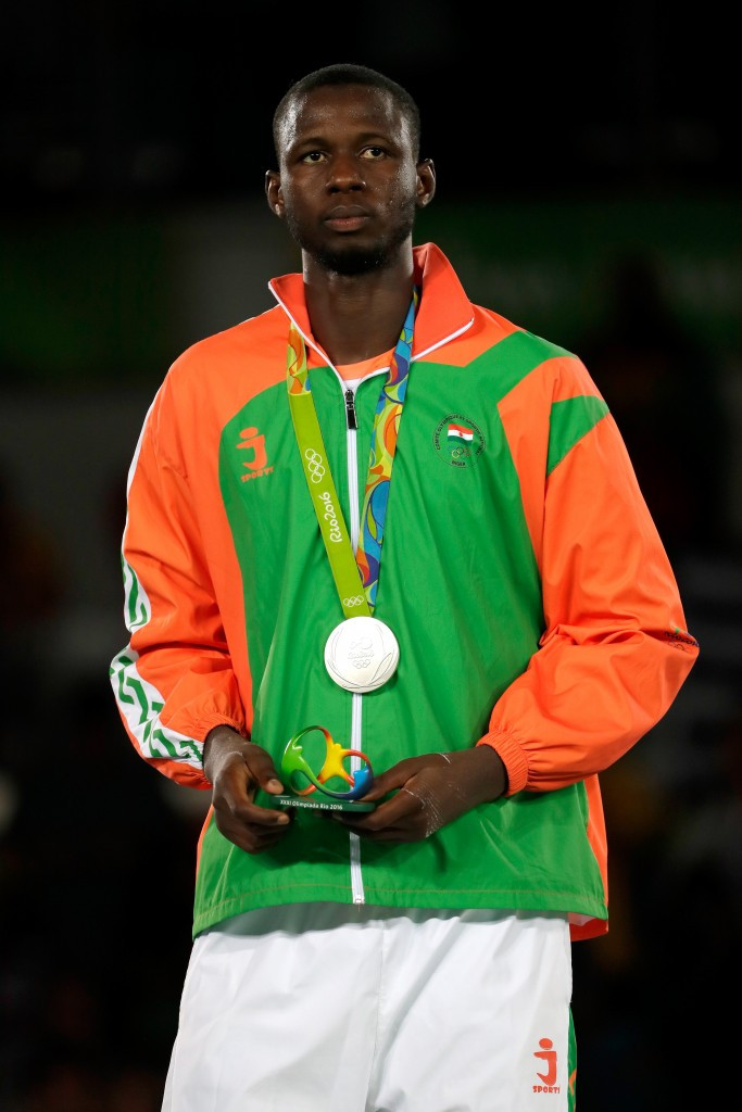 Abdoul Razak Issoufou of Niger was one of four African Olympic medallists at Rio 2016 ©Getty Images