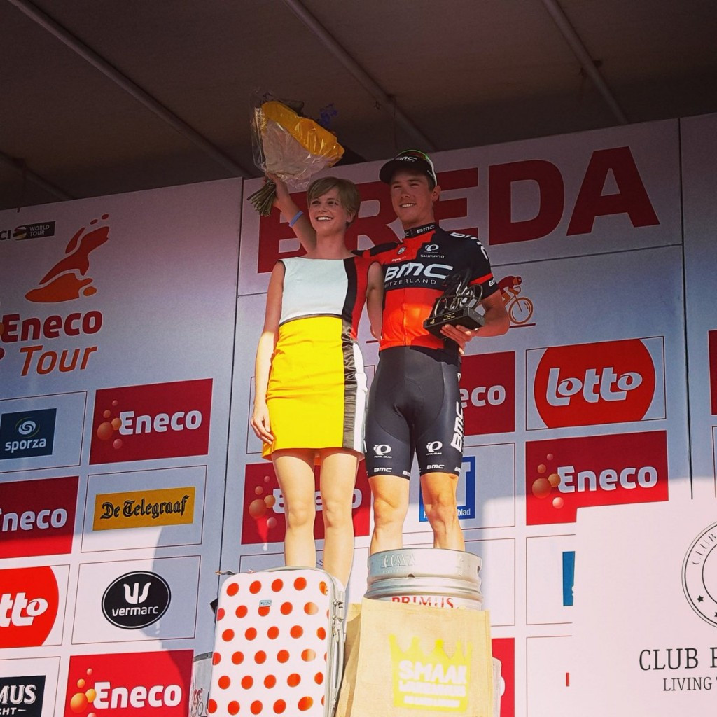 Dennis claims overall lead at Eneco Tour after time trial victory