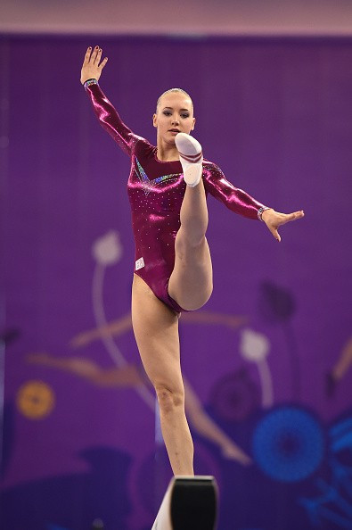 Leike Wevers secured Dutch gold in the beam as well as bronze on the floor ©Getty Images