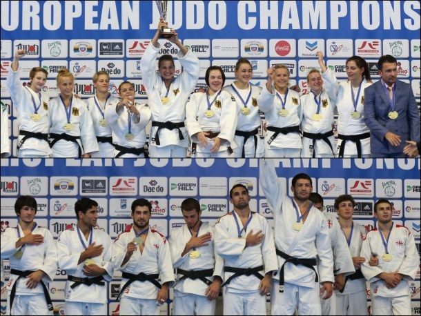 Georgia and Germany seal team titles at Junior European Judo Championships