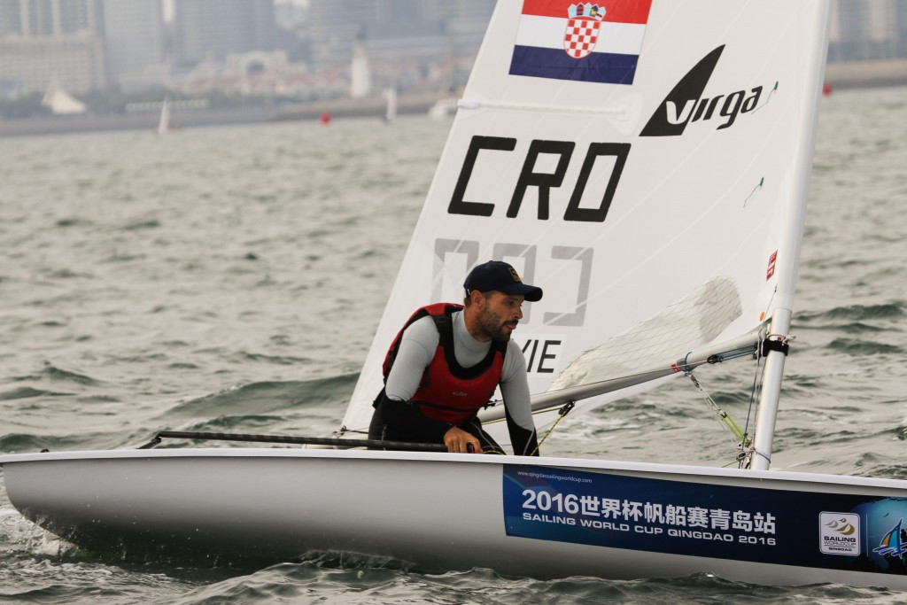 Rio 2016 silver medallist Stipanovic claims laser lead at Sailing World Cup in Qingdao
