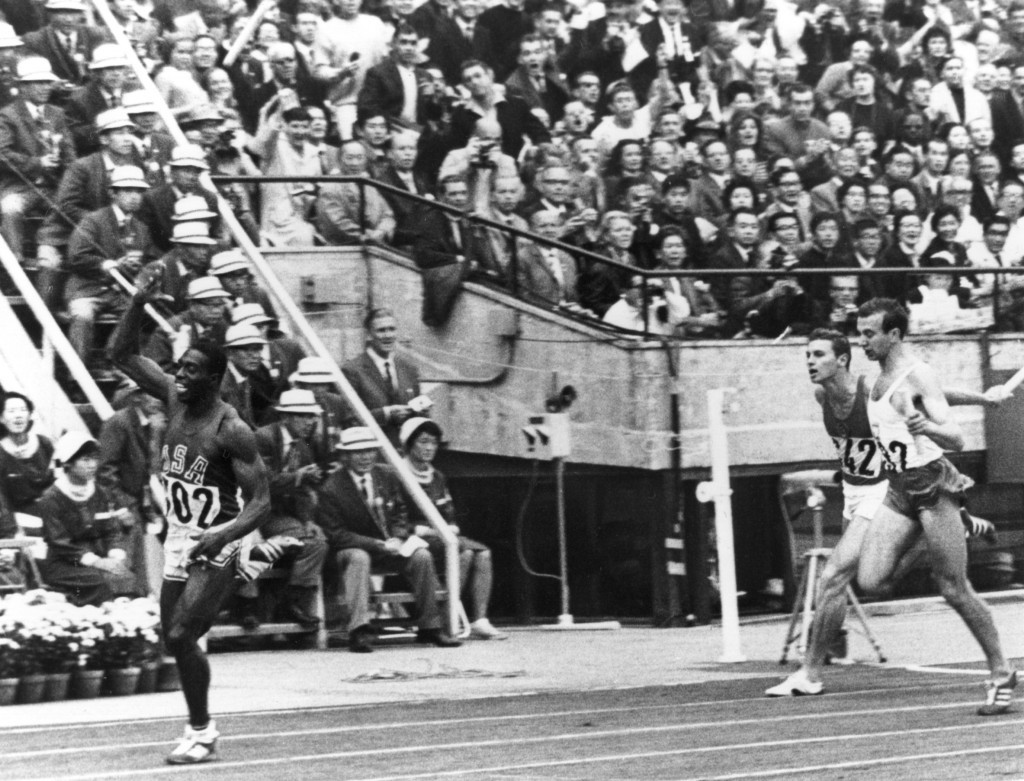 Bob Hayes of the United States was one of the Tokyo 1964 stars ©Getty Images