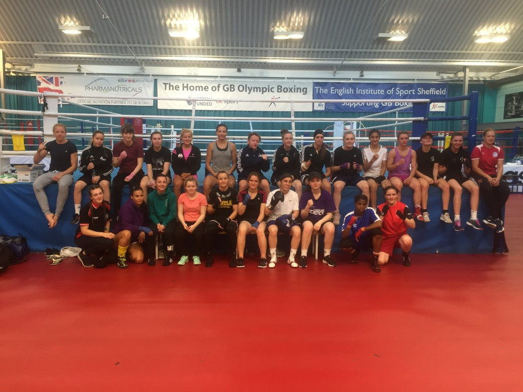 "GB boxing host ""biggest-ever"" female emerging talent camp"