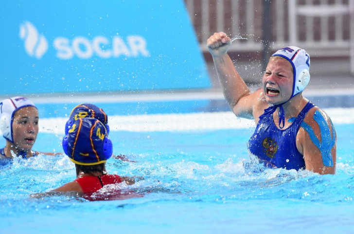 Daria Gerzanich's successfully converted penalty ultimately proved to be decisive