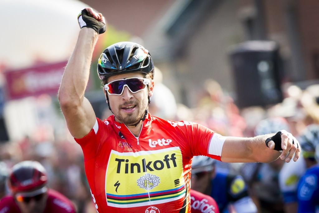Sagan sprints to stage three victory at Eneco Tour