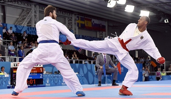 Karate will be hoping its showcasing at the Baku 2015 European Games will help its application ©Getty Images