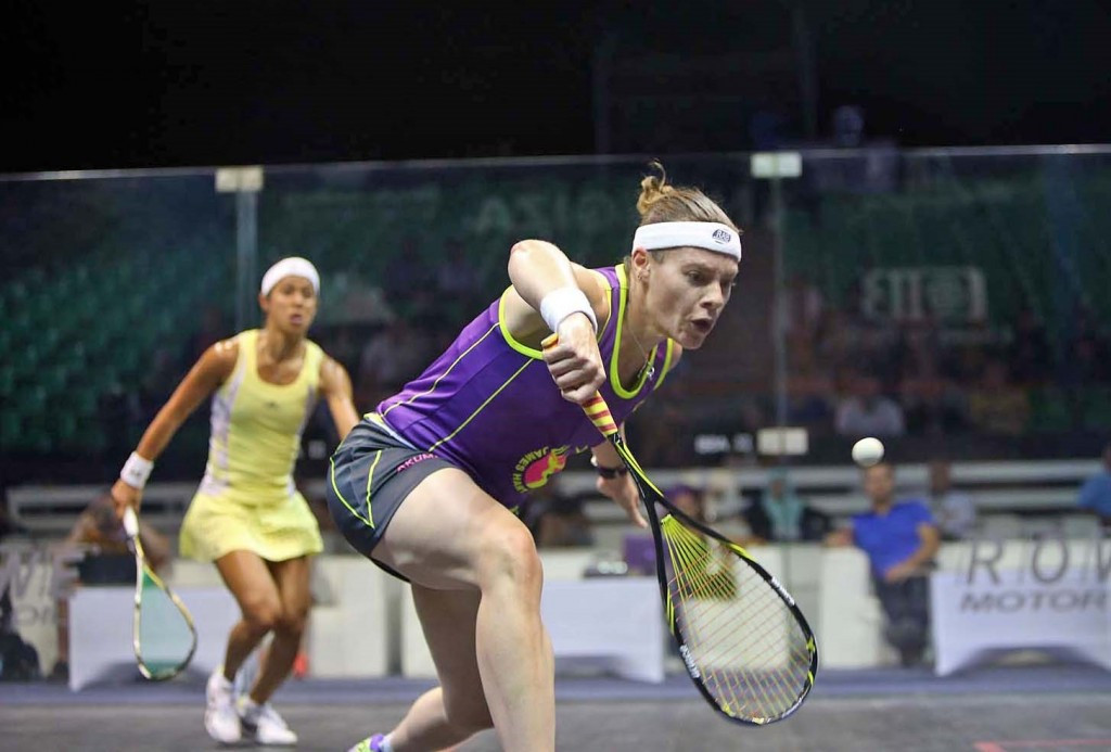 England's Perry secures biggest win of career by beating David at Al Ahram Squash Open