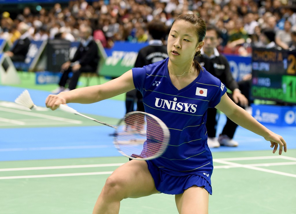Home favourite Okuhara reaches quarter-finals of BWF Japan Super Series