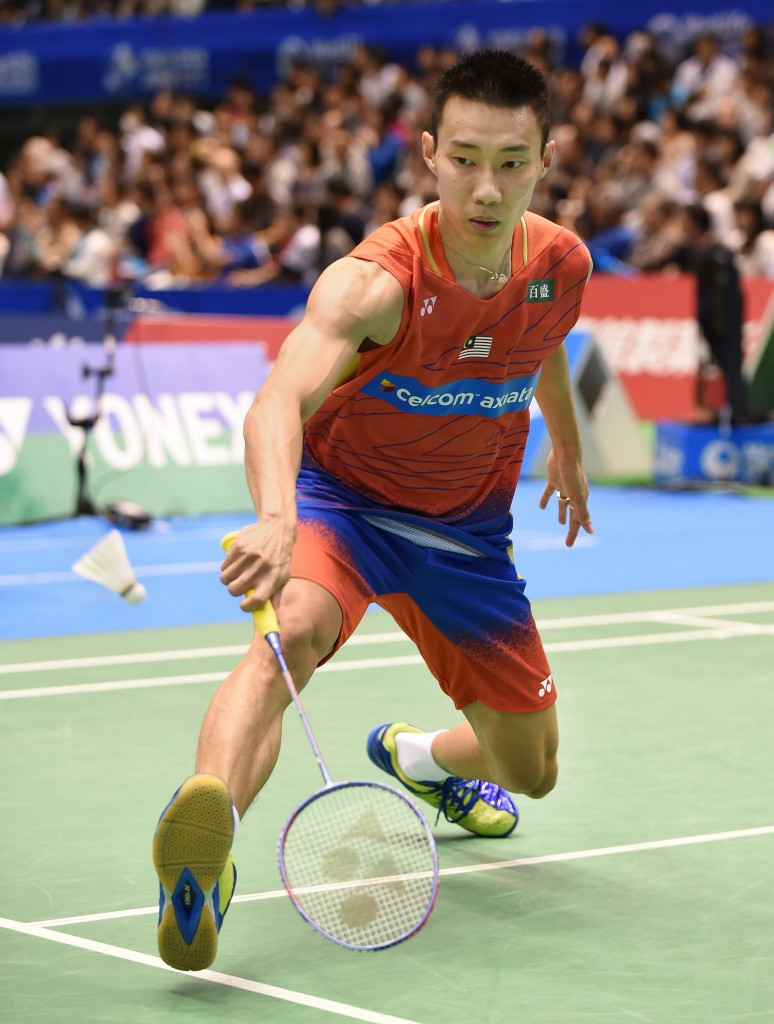 Lee Chong Wei continued his march in the men's competition ©Getty Images