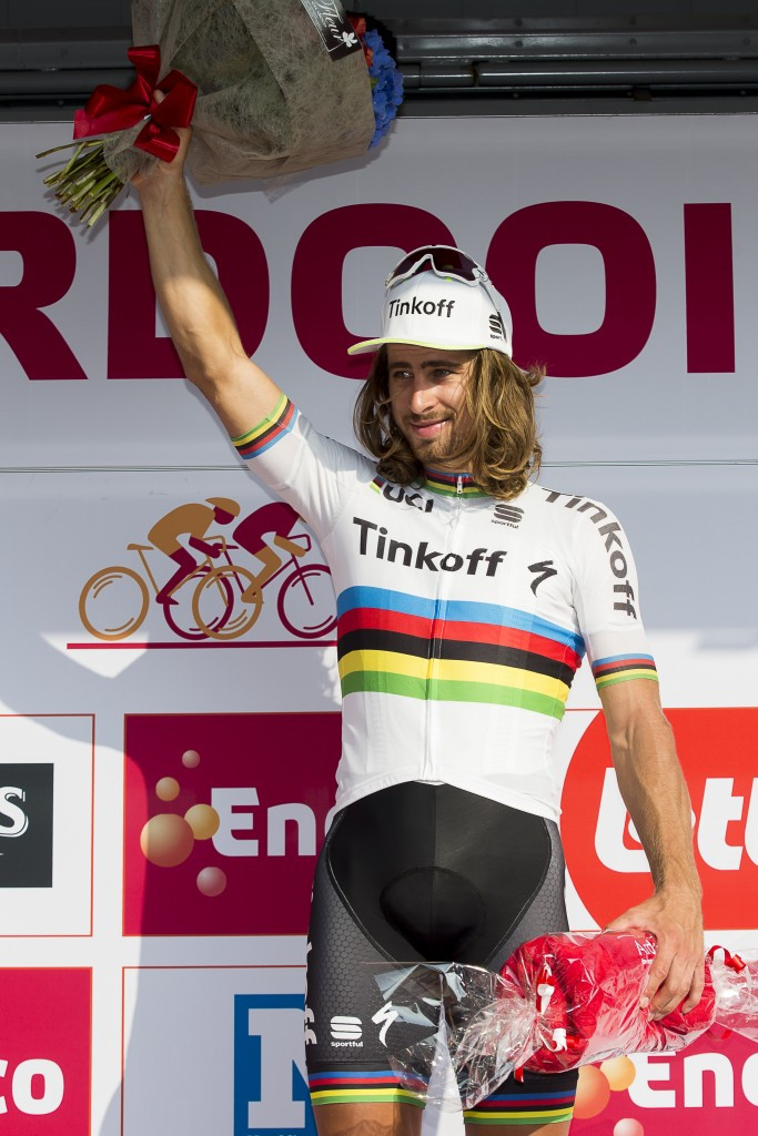 Sagan claims overall lead at Eneco Tour after second consecutive stage win